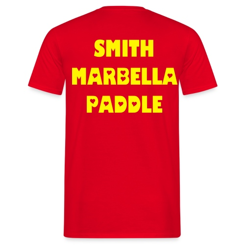 SMITH PADDLE MARBELLA SHOP T-SHIRT ROJA - Camiseta hombre