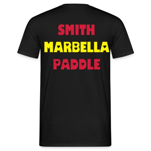 SMITH PADDLE MARBELLA SHOP POLO NEGRO SPAIN - Camiseta hombre