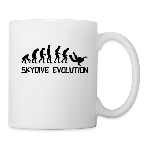 skydiver evolution Tasse  - Tasse