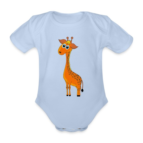 Baby Giraffe - Baby Bio-Kurzarm-Body