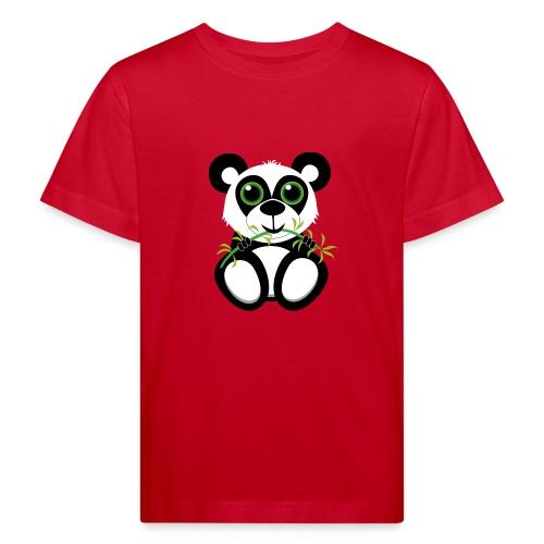 Panda Baby - Kinder Bio-T-Shirt