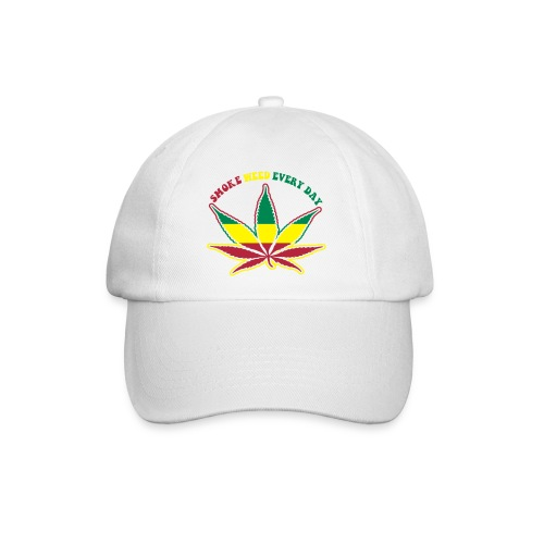 smoke weed every day - Baseball Cap