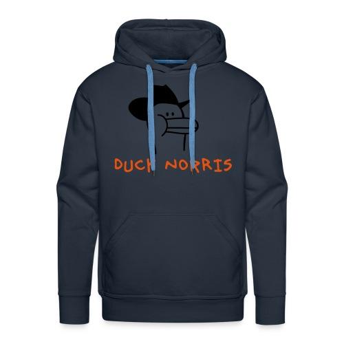 Duck Norris Hoodie - Men's Premium Hoodie