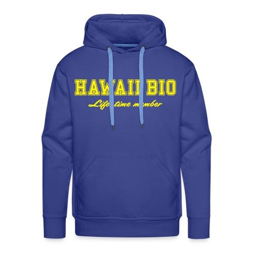 Landmærker: Hawaii Bio (plysprint) - Men's Premium Hoodie