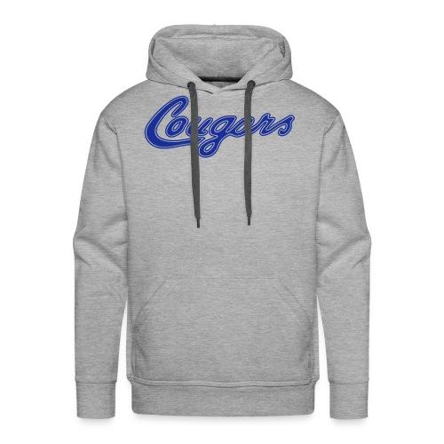 Hoodie (m), Cougars - Männer Premium Hoodie