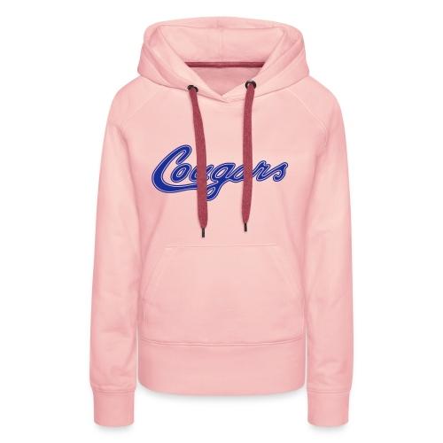 Hoodie (w), Cougars - Frauen Premium Hoodie