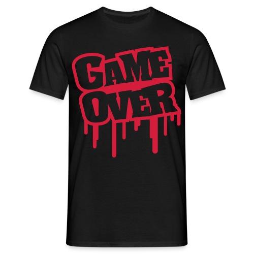 Game Over T-shirt - T-skjorte for menn