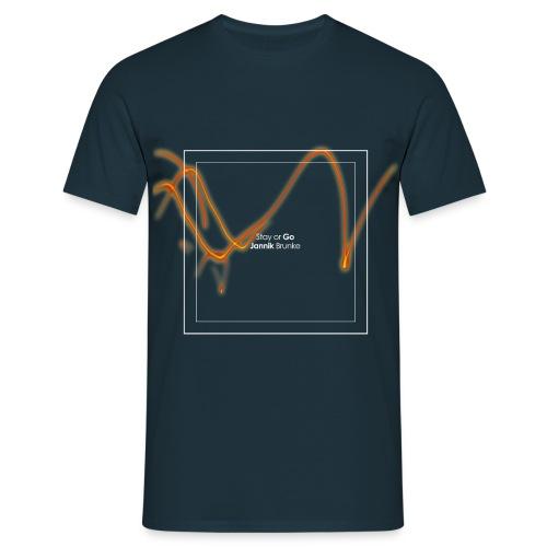 Stay or Go - (Boys) - Männer T-Shirt