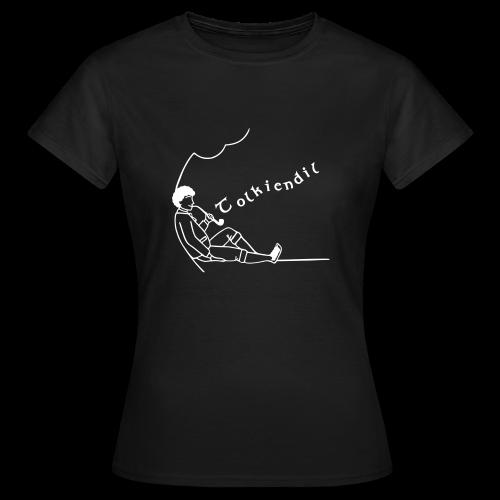 Semi-Homme Tolkiendil Blanc T-shirt Standard Femme - T-shirt Femme