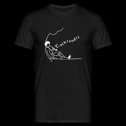 Semi-Homme Tolkiendil Blanc T-shirt Homme Couleur - T-shirt Homme