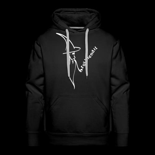 Magicien Tolkiendil Blanc Sweat Homme - Sweat-shirt à capuche Premium pour hommes