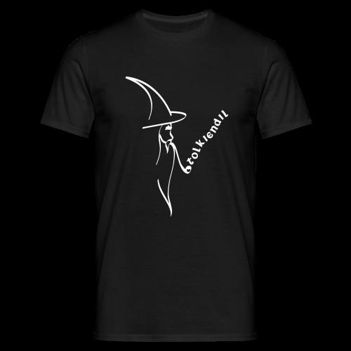 Magicien Tolkiendil Blanc T-shirt Homme Couleur - T-shirt Homme