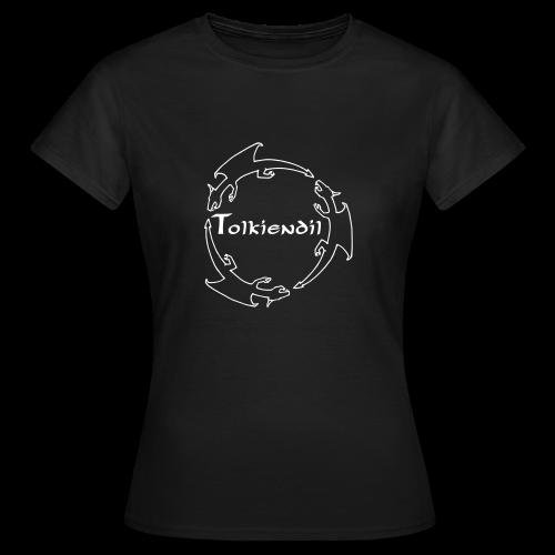 Dragons Tolkiendil Blanc T-shirt Standard Femme - T-shirt Femme