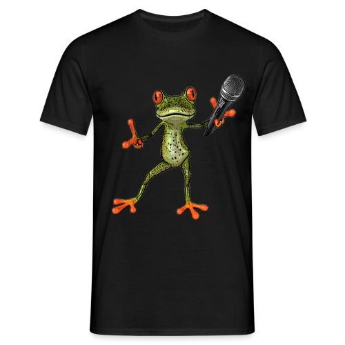 T-Shirt MC-Kröte schwarz - Männer T-Shirt