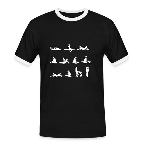 T-shirt Kamasutra - Maglietta Contrast da uomo