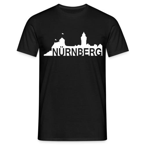 Nürnberg  -  Nürnberg mit Silhouette  --  ©roil - Männer T-Shirt