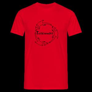 Dragons Tolkiendil Noir T-shirt Homme Couleur - T-shirt Homme
