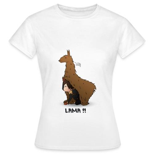 LAMA ?! - T-shirt Femme