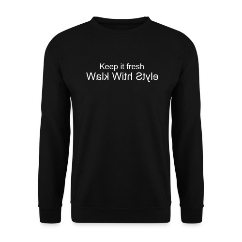 Herre sweater - Officielle Walk With Style sweatshirt