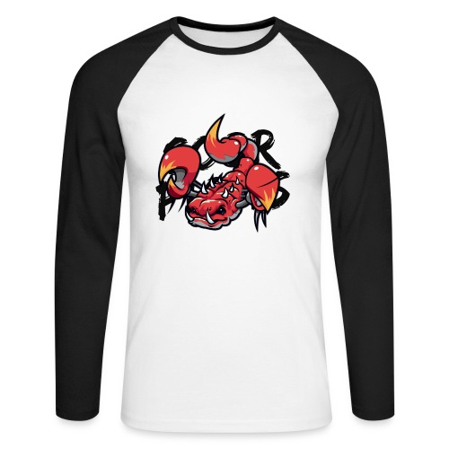T-shirt Scorpions manches longues (homme) - T-shirt baseball manches longues Homme