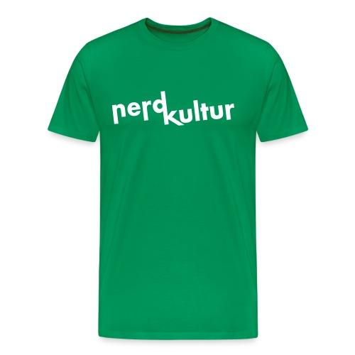 Shirt Nerdkultur Logo Jungs - Männer Premium T-Shirt