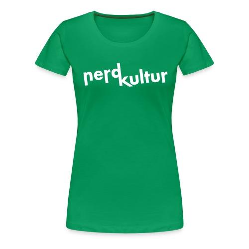 Shirt Nerdkultur Logo Mädchen - Frauen Premium T-Shirt