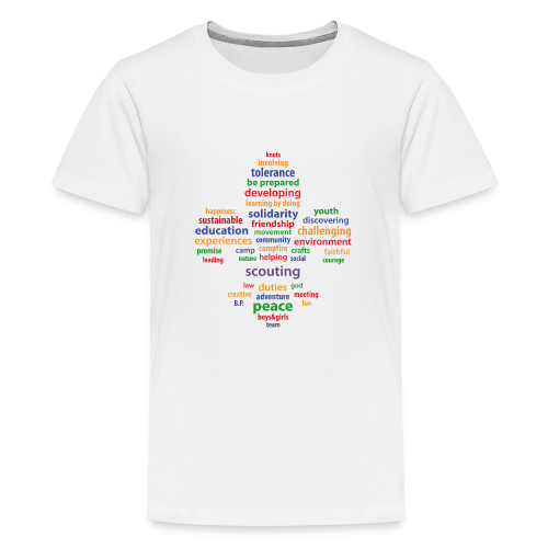 Scouting is... - colored - Teenage Premium T-Shirt