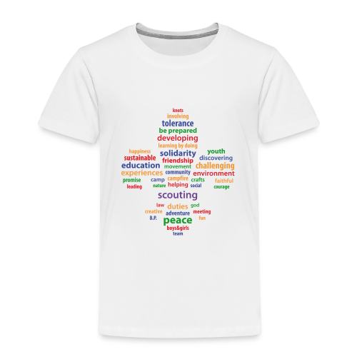 Scouting is... - colored - Kids' Premium T-Shirt