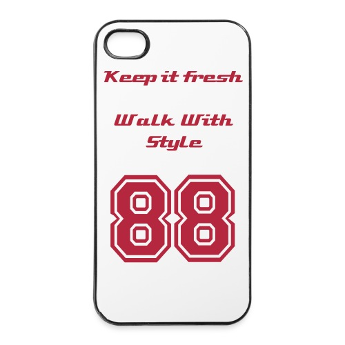 iPhone 4/4s Hard Case - Keep it fresh og pimp din  4/4s