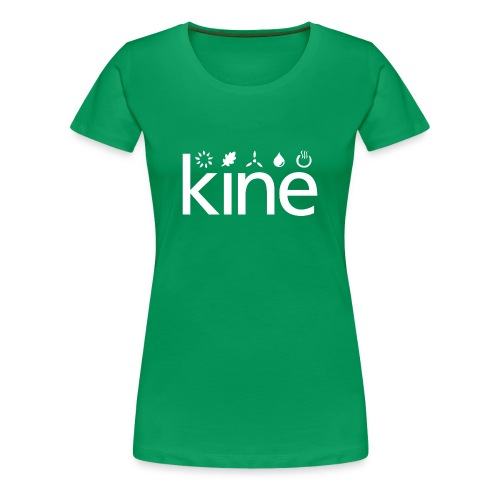 kine Öko-Shirt 2013 female - Frauen Premium T-Shirt