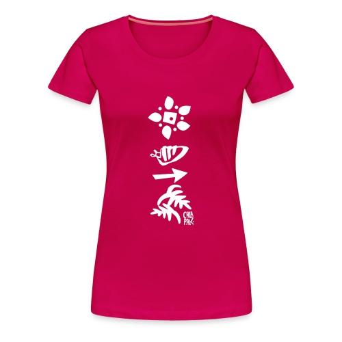 4 éléments - T-shirt Premium Femme