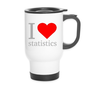 I love Statistics Thermobecher - Thermobecher