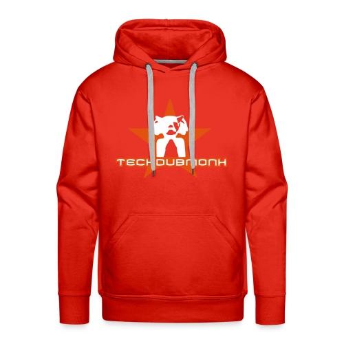 TECHDUBMONK SWEAT MEN - Männer Premium Hoodie