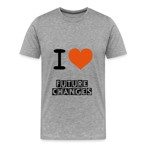 I LOVE FUTURECHANGES - Herre premium T-shirt
