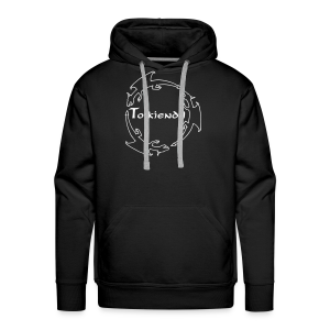 Dragons Tolkiendil Blanc Sweat Homme - Sweat-shirt à capuche Premium pour hommes