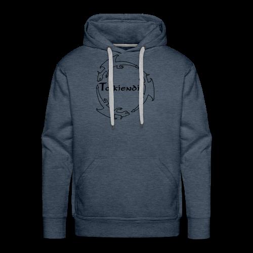 Dragons Tolkiendil Noir Sweat Homme - Sweat-shirt à capuche Premium pour hommes
