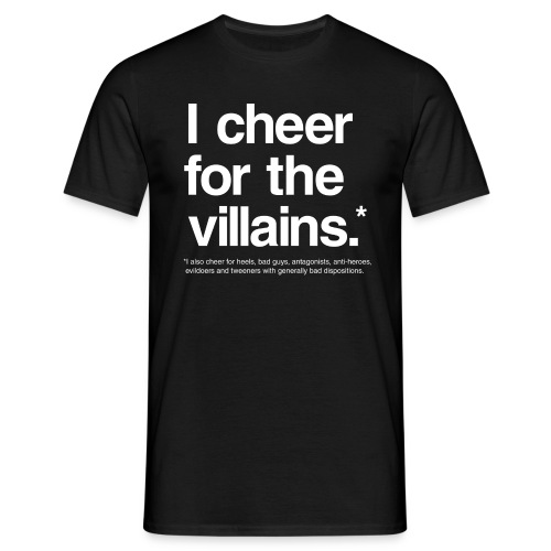 Villains (Men) - Men's T-Shirt