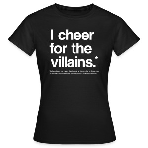 Villains (Women) - Women's T-Shirt