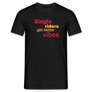 Single vibes T (black) - Men's T-Shirt