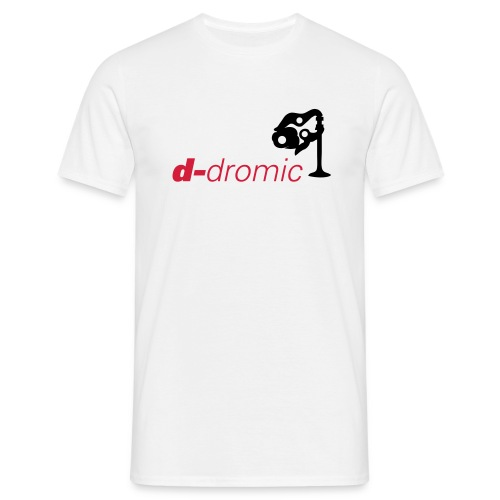 d-dromic (white) - Men's T-Shirt