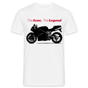 The icon T (white) - Men's T-Shirt