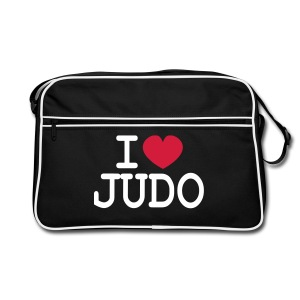 I LOVE JUDO sac bagbase - Sac Retro