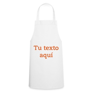Delantal Blanco Personalizable - Delantal de cocina