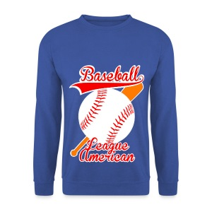 Pull homme baseball league american - Sweat-shirt Homme