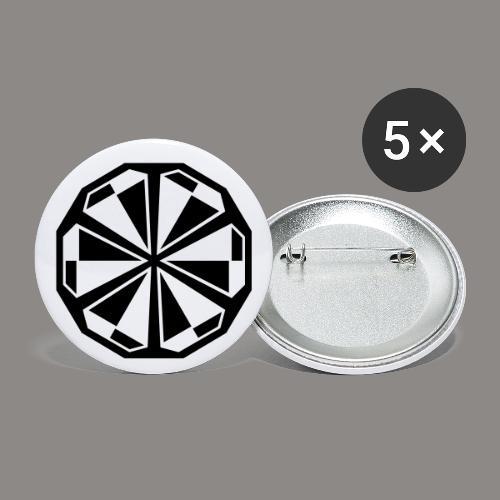 Buttons - 5 pack - Buttons medium 1.26/32 mm (5-pack)