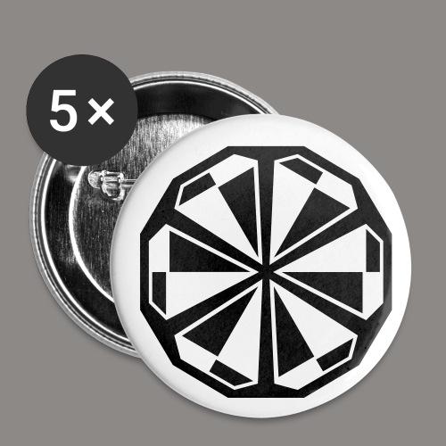 Buttons - 5 pack - Buttons medium 32 mm