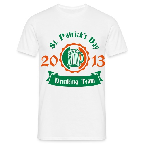 Paddys Day Drinking Team - Men's T-Shirt