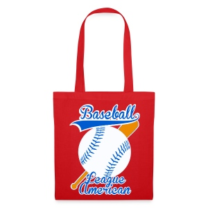 Sac baseball league american - Tote Bag
