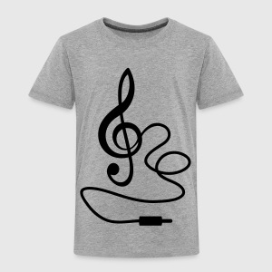 Instant Music Treble Clef Bass Beat Sound T-Shirts - Kids' Premium T-Shirt
