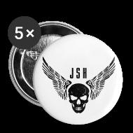 Buttons ~ Buttons small 25 mm ~ JSH Button Set S Logo #3-b